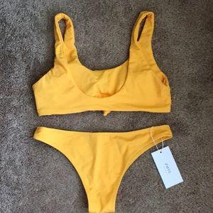 f7040afd9d4 Swim | Mustard Bathing Suit | Poshmark